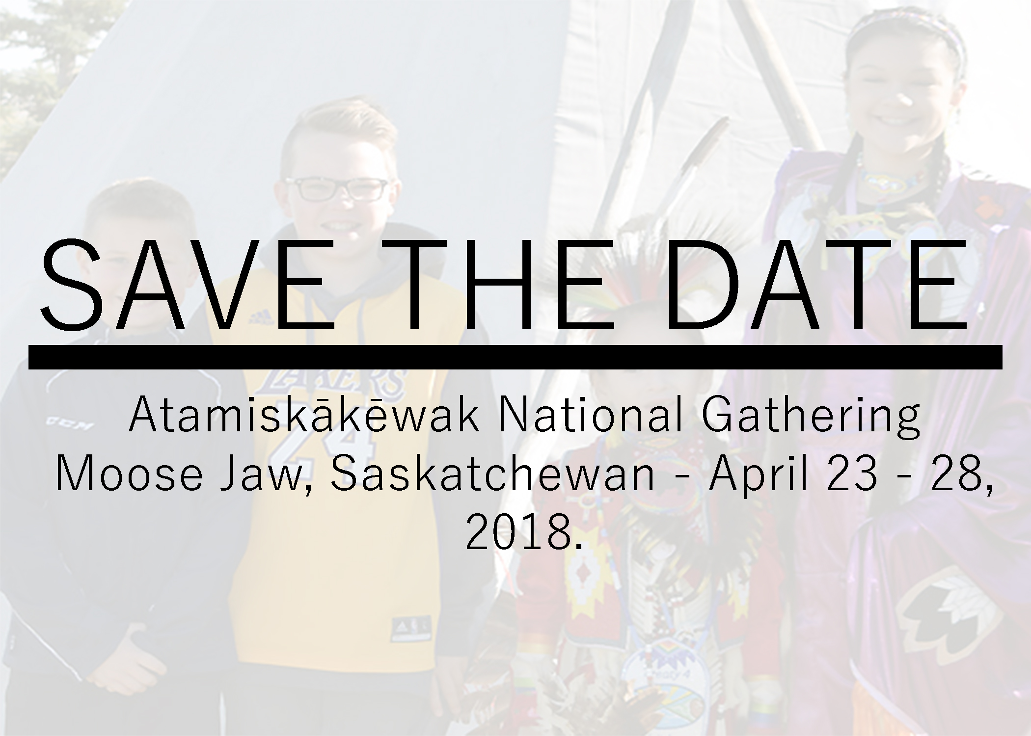 Moose jaw save the date