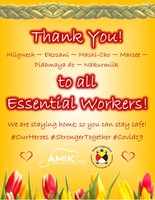 Thank you   essential workers   apr 2020